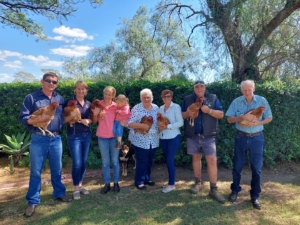 Poultry Farmers Neuendorf Family